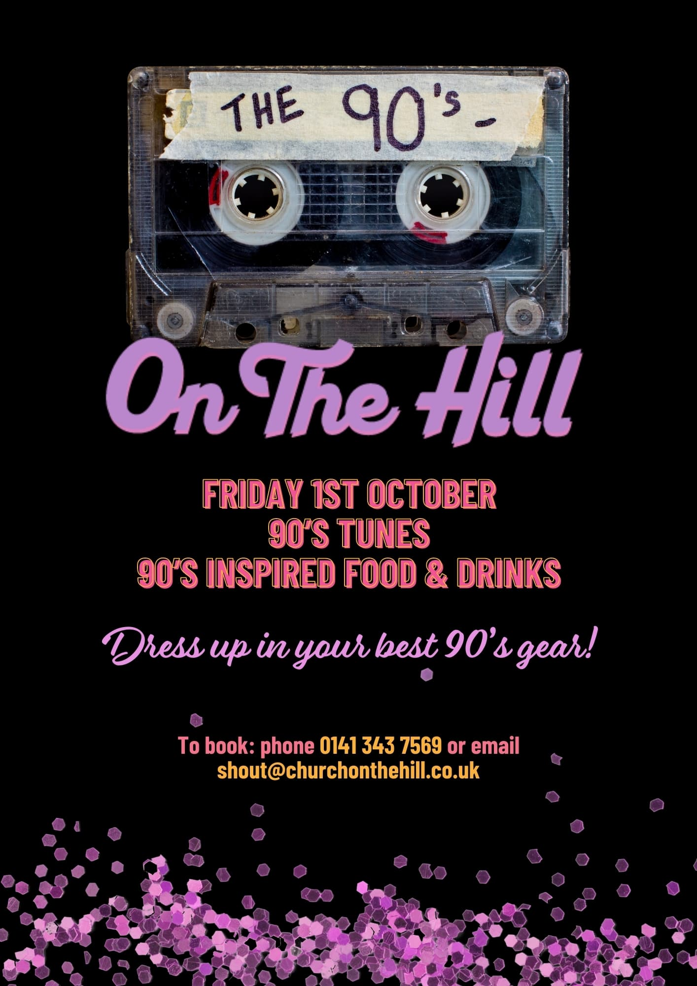 church on the hill 90s night